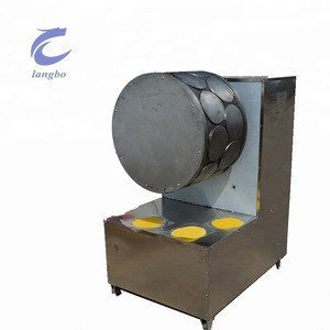 Quality Assurance Samosa Sheet Making Machine Industrial Egg Grain Lumpia Sheet Tortilla Injera Wrapper Spring Roll Machine