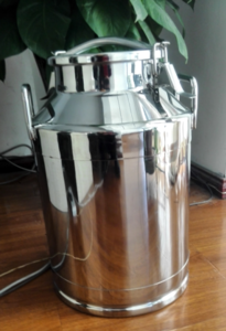 SS304 materials milk transportation tank with good quality stainless steel milk containers