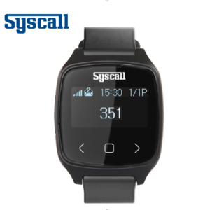 Syscall direct pager for waiter or nurse and doctor at restaurant, cafe and hospital, wireless paging system