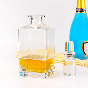 The Old Fashioned Personalized Crystal Glass Whiskey Decanter and Glass Set for Wedding
