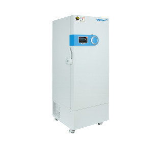 ULT Freezer, Non-Freon Refrigerant (-86C) with Upright type and Touch Screen LCD panel