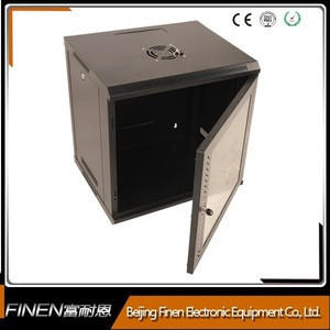 Wall mount server rack 18U network attached storage