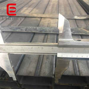Welded square steel pipe per meter ! q235/q345 hollow section black painted american standard square pipe