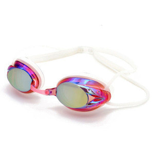 Wholesale Diving Equipment swimming goggles with Anti-fog Mirrored Prescription Lens