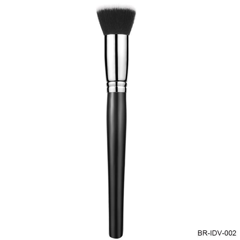 Wood Handle Powder Brush Natural Hair