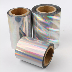 ZHY-267 Used on zip, hologram hot colored aluminum foil