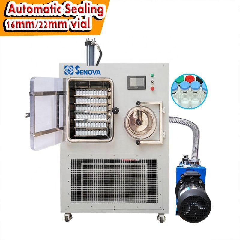 Vial Sealing Pilot Freeze Dryer