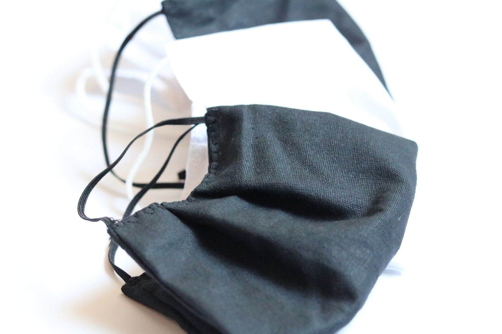 Two Layer 100% Cotton Textile Face Mask With Gatherings For Multiple Use Multiple Colors