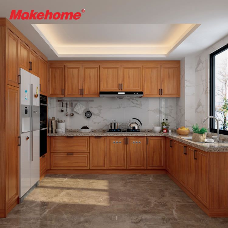 Durable Aluminum Kitchen Cabinet Anti-Insect Fireproof