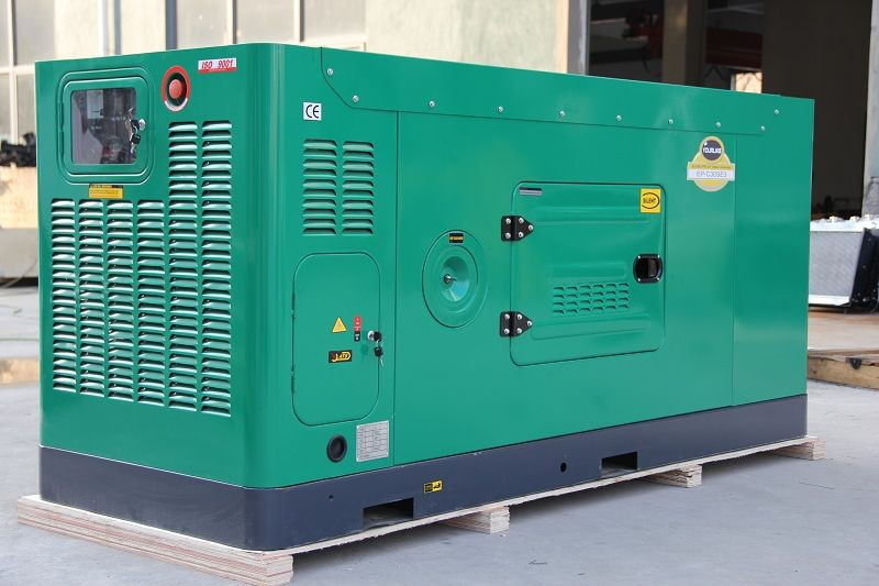 Silent Water Cooled Diesel Generator EP Series