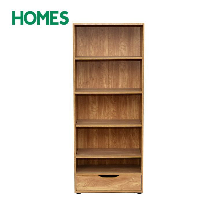 functional home display rack solid pine wood Book Shelf