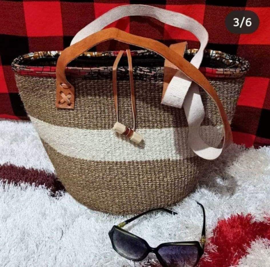 Weaved baskets.