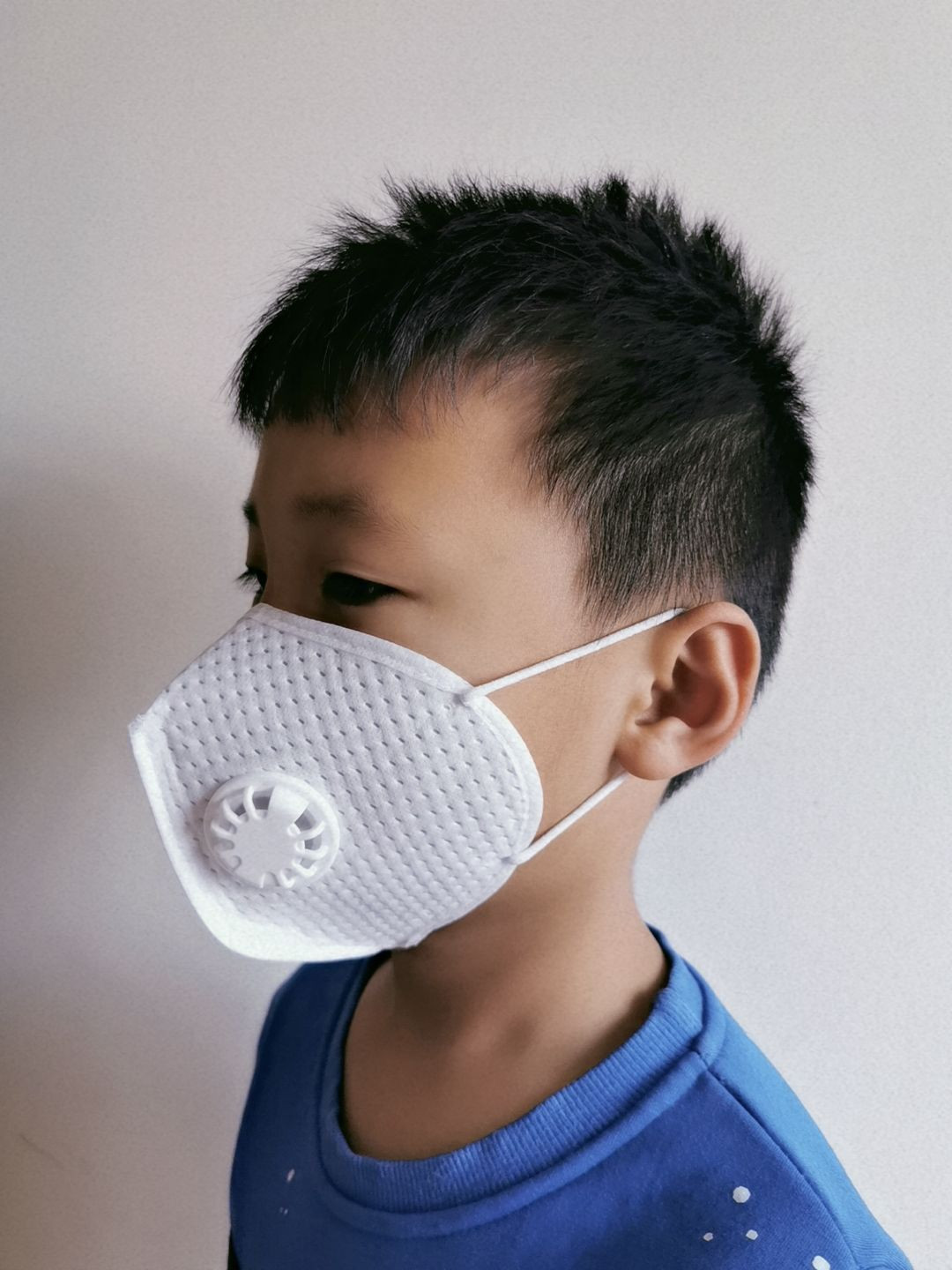 Lab tested 4 Ply KN95 Children face mask with CE/FDA certification, with valve, Express Ship Available