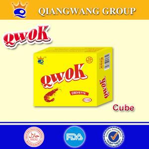 10g/cube QWOK HALAL CHICKEN/SHRIMP/BEEF BOUILLON CUBE