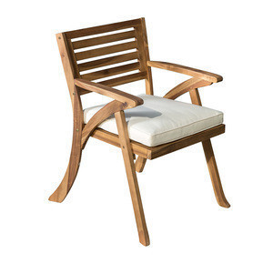 2 pcs High quality best selling outdoor Acacia Wood garden chair