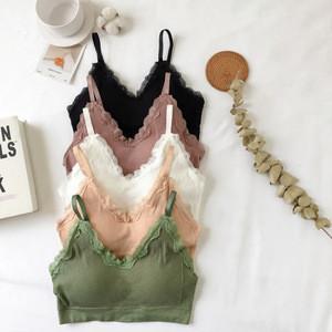 2019 Women Seamless Bra Ladies Daily Wear Casual Teenage Girl Bra and Underwear