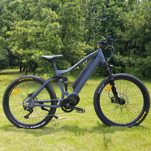 2020 New Design Electric Mountain bicycle ,full suspension Bafang motor 48V 750W/1000w Ultra ebike