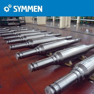 20Cr2Ni4 Big Size Forged Steel Roller Shaft, Forged mill roller shaft