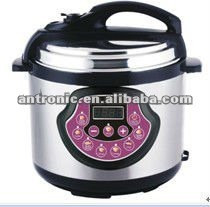 4-digital LED display 4L/5L/6L /Stainless steel Electrical Pressure Cooker