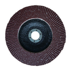 6 Inch Alumina Plastic Fiber Backing Sanding  Flap Disc For  Metal Polishing   Grinding Wheels