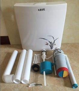 China Plastic Toilet Water Tank(HS-E65)Plastic Toilet Cistern