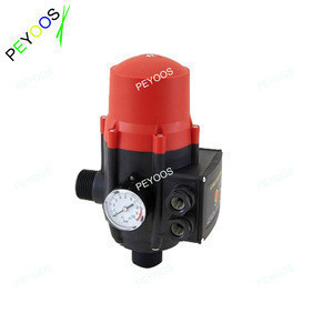 Clarified water pump pressure switch