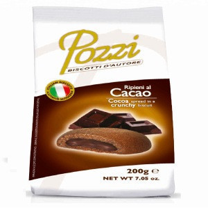 COCOA BISCUITS FILLED WITH COCOA CREAM (38%)