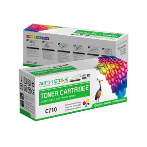 Compatible Color Toner Cartridge 43866105 43866106 43866107 43866108 For OKIDATA C710 C711 Laser Printer Toner Cartridge