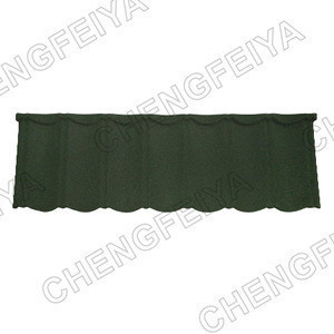 Construction Stone Coated Steel China Roofing Tile