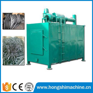 Continuous charcoal carbonization stove, bamboo carbonization stove