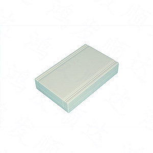 Custom plastic enclosure for electronic controller module housing