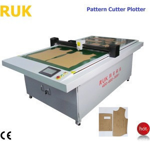 high quality auto position system CAD Paper pattern cutting plotter digital die cutting machine