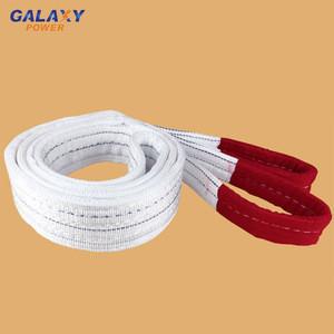 High tenacity polyester webbing soft lifting slings