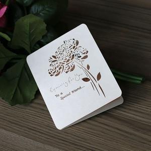 Korean handmade pop up wedding invitation card event party supplies