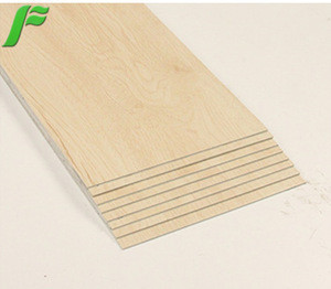 Lvp/spc material wood grain plastic floor vinyl tile flooring