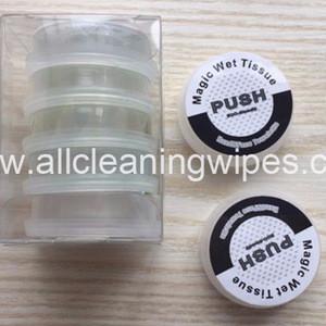 Magic Nonwoven Disposable Push Napkin Wet Wipes