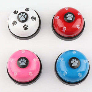 Metal Bell DogTraining with Bottoms for Potty Training Clear Ring Pet Tool Communication Device Dog Door Bell for Dogs Cats