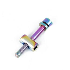 OEM Custom  fastener  CNC Machining titanium alloy  MTB Bicycle Saddle Fixed Screw