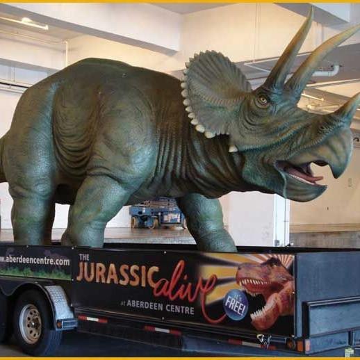 Outdoor Playground Equipment Animatronic Robot Dinosaur  Model For Sale
