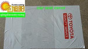 PE disposable auto plastic car seat cover