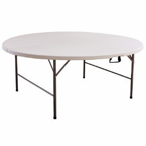 Plastic Folding Table Round Used For Banquet Outdoor Wedding Folding Tables 6 Ft Table Chairs Plastic Folding Table Round Used For Banquet Outdoor Wedding Folding Tables 6 Ft Table Chairs Suppliers