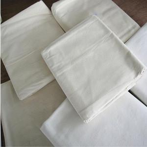 Raw Cotton Grey Fabric 40*40 133X72 Stocklot Cotton Cloth For Dress Textile