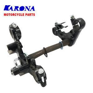 Steel forged Steering Stem for WY125 Motorcycle Spare Parts