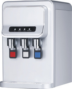 Table type hot & cold & warm water dispenser /water machineBH-YLR-TB-106T