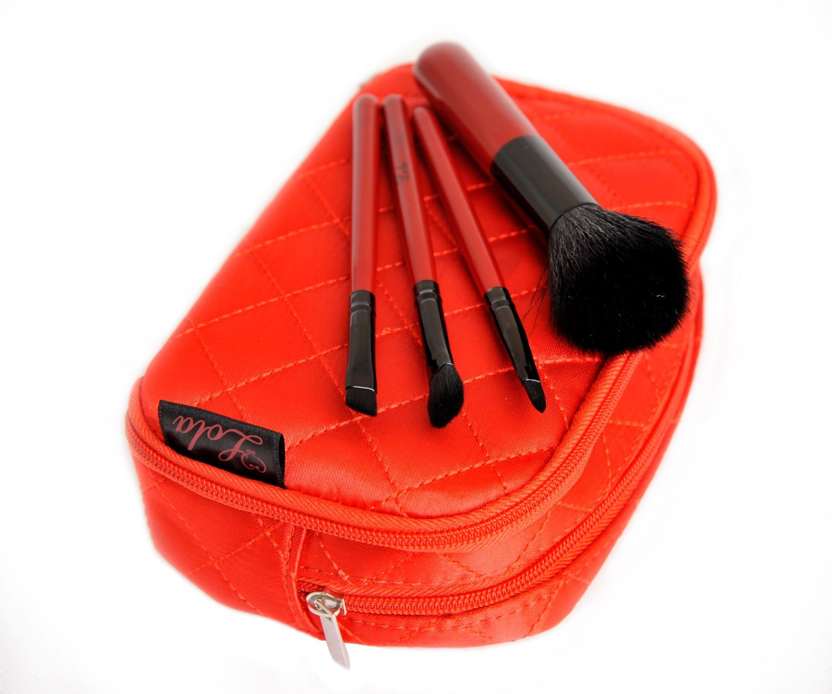 Travel Brush Set for Promotion Gift with Wooden Handle and Synthetic Hair
