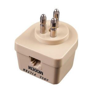 US ADSL Splitter Telephone Modular 6P6C Jack Accessory