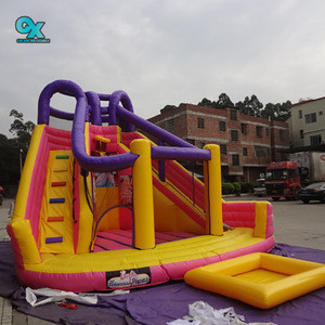Wholesale cheap commercial use giant inflatable water slide for adult kids