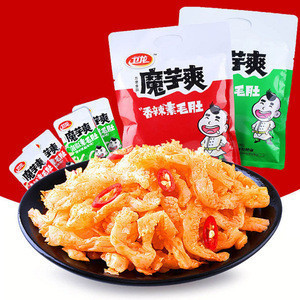 Wholesale Famous Weilong Chinese Snacks Konjac Products Spicy Snacks healthy snacks