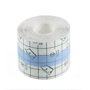 Women cloth dress use PU waterproof and invisible boob lift tape transparent adhesive body tape for all cups