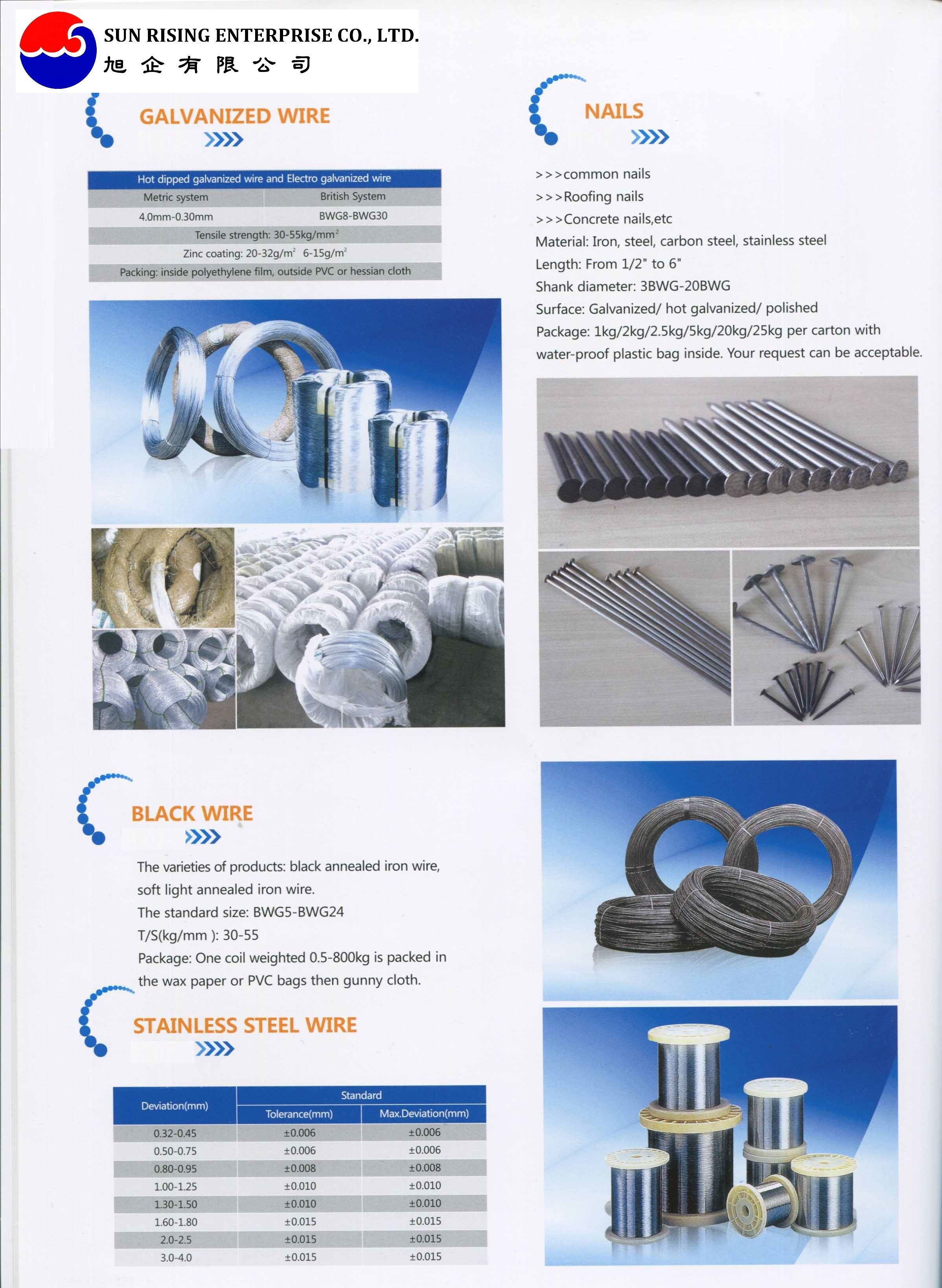 Galvanized wire/Galvanized iron wire/Binding wire/0.7mm to 4.0mm,0.2kg to 200kg/roll 500kg/roll